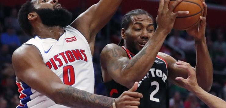 Raptors Swept by the Pistons