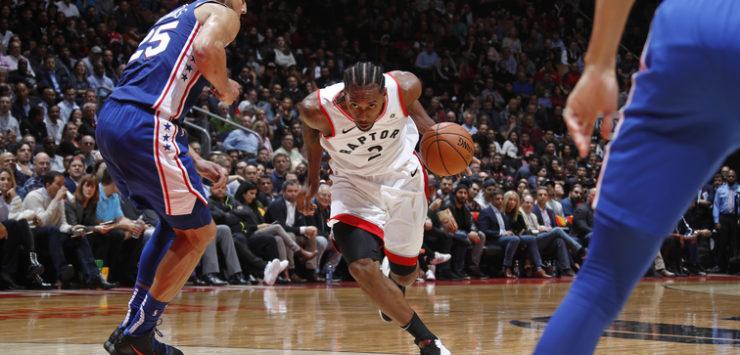 Raptors Win Game 1 vs. Sixers