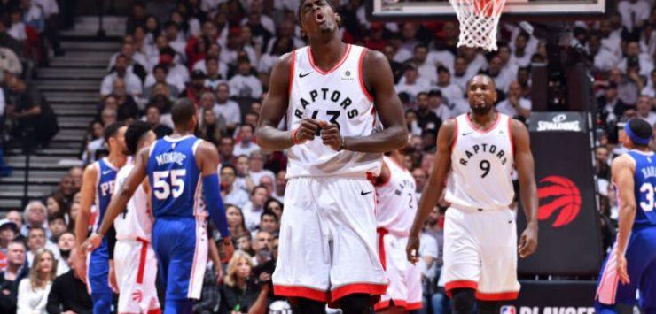 Raptors Win Game 5 vs. Sixers