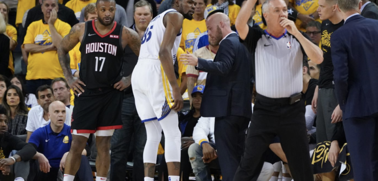 Durant Suffers Strained Calf