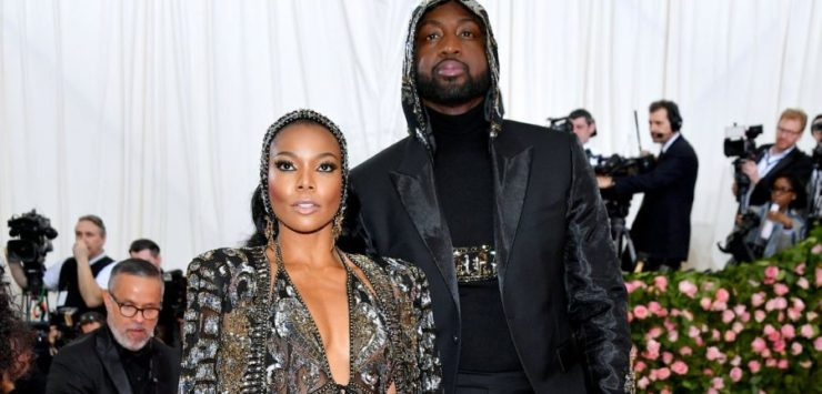 Wade, Union Show Out at Met Gala