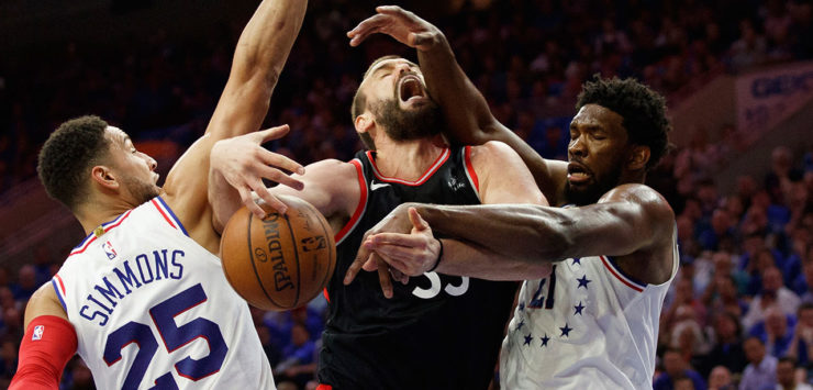 Raptors Blown Out by Sixers